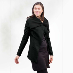 Organic Cotton Asymm Jacket