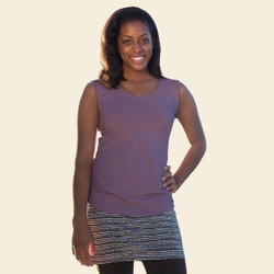 Organic Cotton Ruched Tank