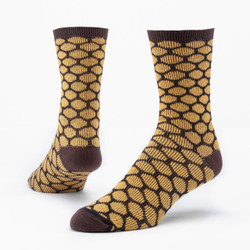 Organic Cotton Trouser Socks - Bee Keeper