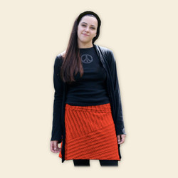 Organic Cotton A-line Skirt - Clearance