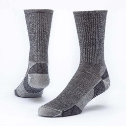 Organic Wool Urban Hiker Socks - Crew