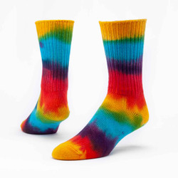 Organic Cotton Crew Socks - Hand-Dyed