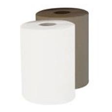 "8"" Jumbo Roll Towel - White - 6 Rolls Per Case"