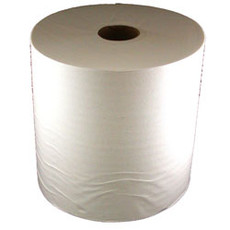 "Fikes Premium TAD Jumbo Roll Towel - 8""x700'/12 Rolls Per Case - White"