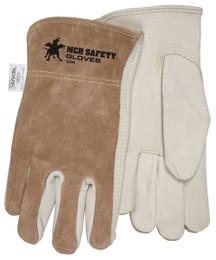 Drivers Glove, Premium Grain Palm & Split Back, Keystone Thumb, DuPont™ Kevlar® Sewn