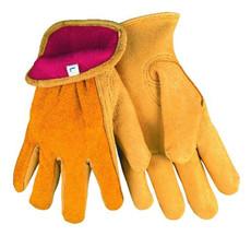 Drivers Glove, Regular Grain Deer Palm, Split Back, Fleece Lined, Keystone Thumb