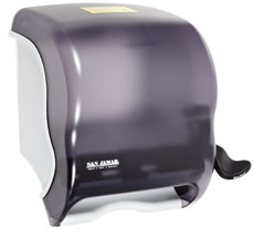 C-Element Lever Roll Towel Dispenser, Black