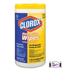 Clorox Disinfecting Wipes -  Fresh Scent - 6 Per Case