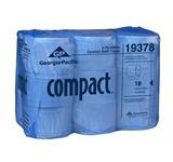GP Compact 2-ply Coreless Toilet Tissue Roll, 18 Rolls Per Case