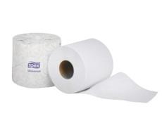 Tork Premium Toilet Tissue, White, 2 Ply, 96 Rolls Per Case