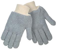 Terrycloth Gray 22 oz., Seamless, Reversible Regular Weight, Knit Wrist