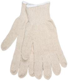 7 Gauge Regular Weight String Knit, Natural Cotton/Polyester, Hemmed
