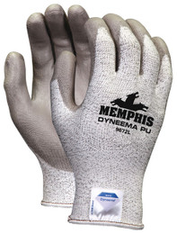 Memphis Dyneema® PU, 13 Gauge Dyneema Blended Shell, Gray PU Coating