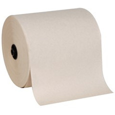 "GP 8.25"" x 700' 1ply enMotion Roll Towel White - 6 Per Case"