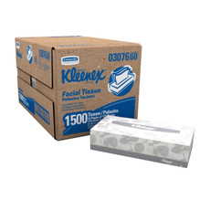 Kleenex Facial Tissue, Pop Up, Flat Box, 2 Ply, 125 Sheets Per Box, 12 Boxes Per Carton