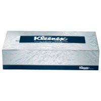 Kleenex Facial Tissue, 100 Sheets Per Box, 36 Boxes Per Case, Flat Pack
