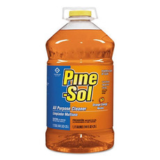 Pine-Sol Liquid Orange Energy 144 oz Bottle - 3 Bottles Per Case