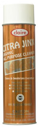 Citra Jinx Organic All-Purpose Cleaner, 20 oz Can, Aerosol, 12 Cans Per Case