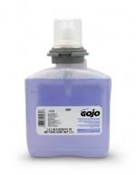 ojo TFX Premium Foam Hand Wash with Skin Conditioners, 1200 ml Bottle, Purple, Foam, Touch Free, Scent: Cranberry (2 Per Carton)