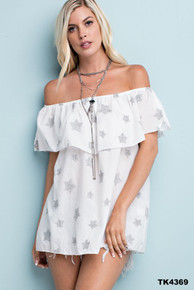 Starstruck Off Shoulder Top
