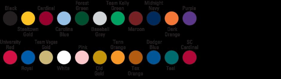 Custom Under Armour Visor Color Choices