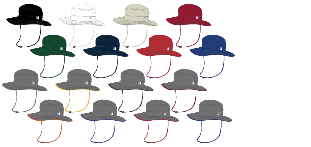 The Game Custom Boonie Hats - Elevation Sports 4d8a3c97081