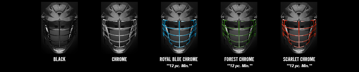 Cascade CPX-R Facemask Options