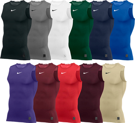 1c8ba0dba Custom Nike Pro Sleeveless Compression Shirts | Elevation Sports
