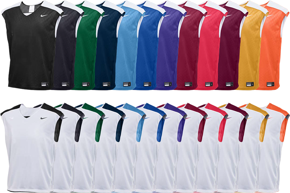Custom Nike Sleeveless Lacrosse Pinnies
