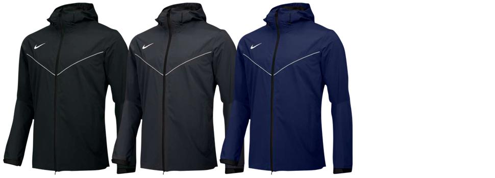 Custom Embroidered Nike Waterproof Jackets