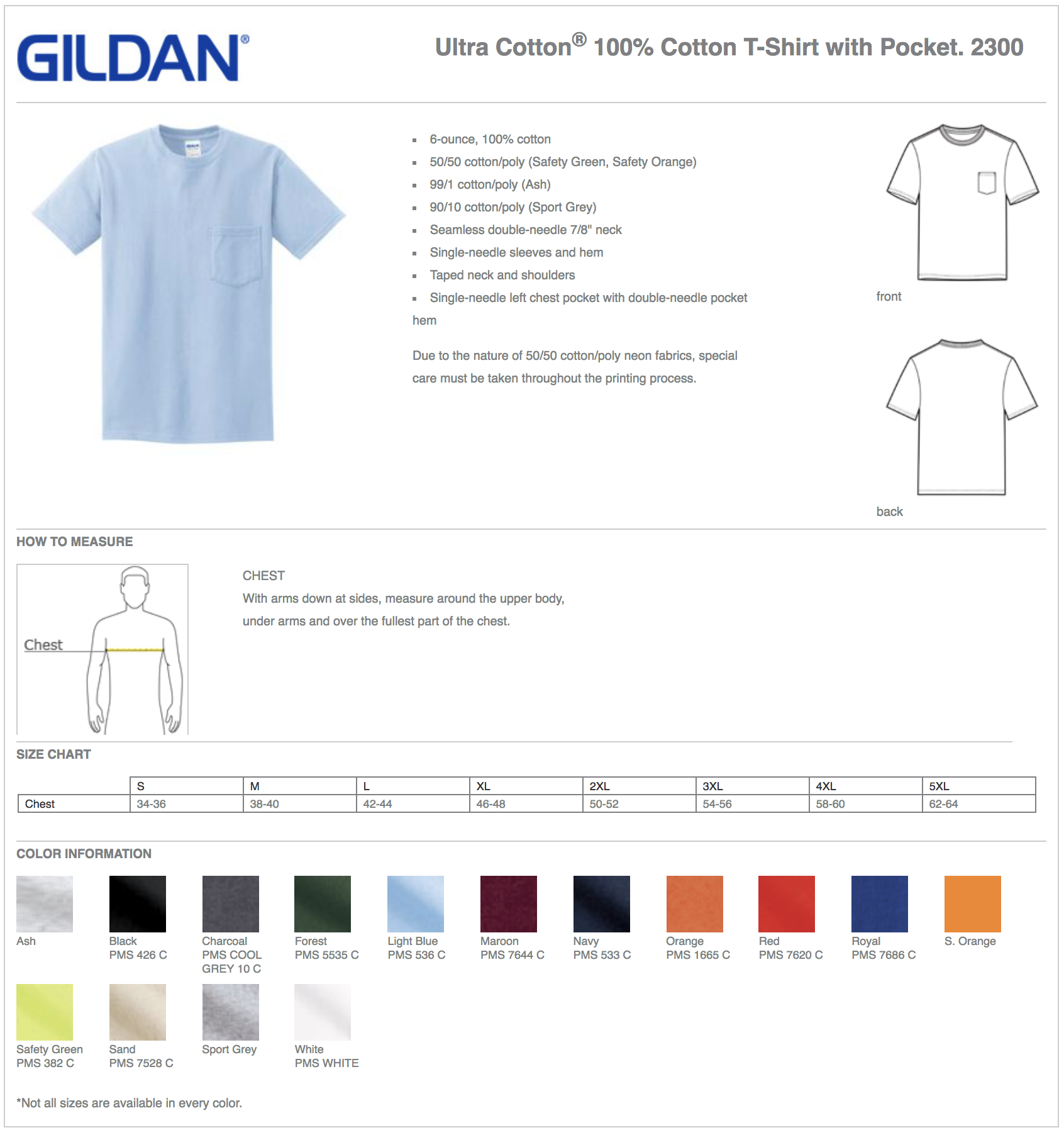 Gildan 6 Oz Ultra Cotton Custom T Shirts With Pocket Elevation Sports