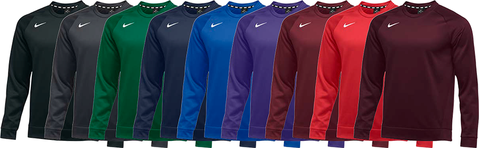 Nike Therma Custom Crewneck Sweatshirts