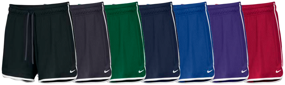 Custom Nike Women's Drill Mesh Shorts