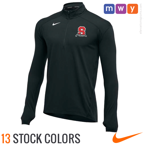 52e9bea546e6 Nike Element Half Zip Custom Pullovers