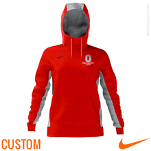 Custom Nike Women's Sublimated Hoodies - Red