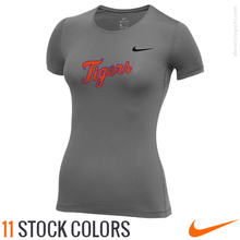 Custom Nike Women's Pro All Over Mesh Compression Shirts