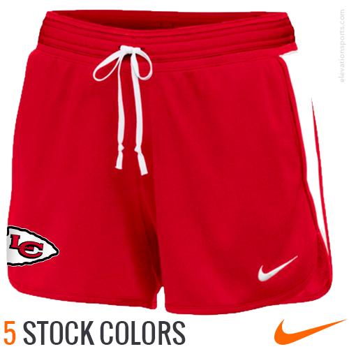 Custom Nike Women s Infiknit Shorts with Pockets  128b876ccb2f