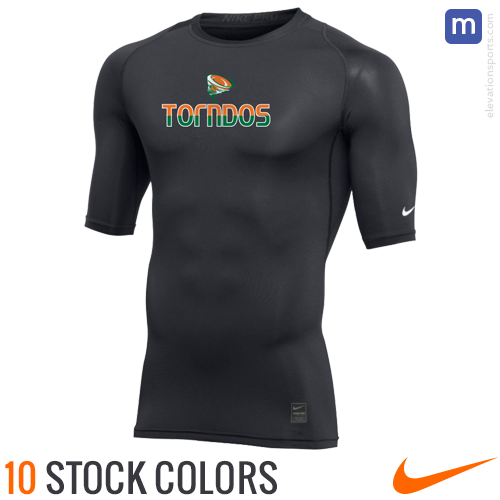 Custom Nike Half Sleeve Compression Shirts