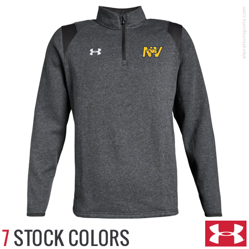 Custom Under Armour Hustle 1/4 Zip Sweatshirts