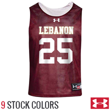 Custom Under Armour Reversible Lacrosse Pinnies