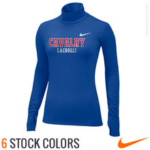 Custom Nike Women's Pro Hyperwarm Mock Neck Compression Shirts