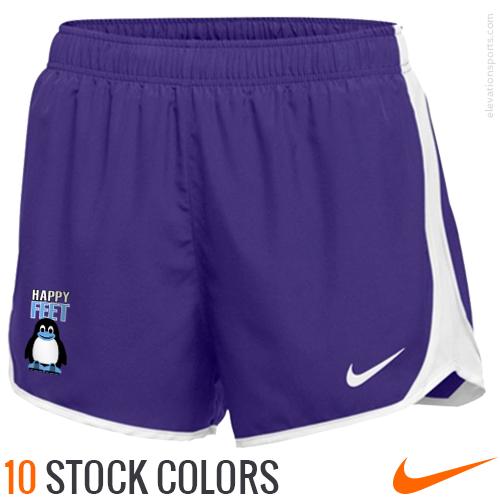 3d09ad8727872 Custom Nike Women s Dry Tempo Shorts