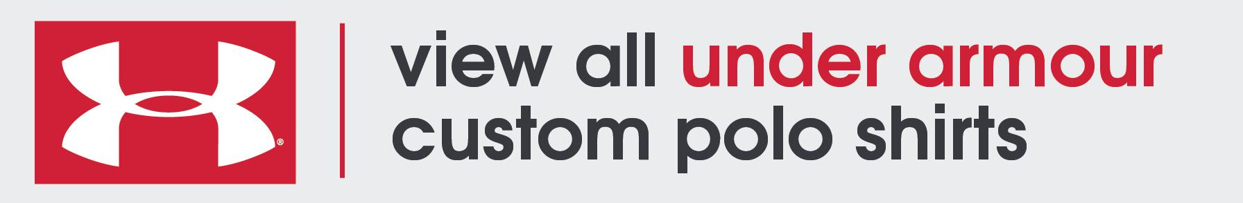 Under Armour Custom Polo Shirts