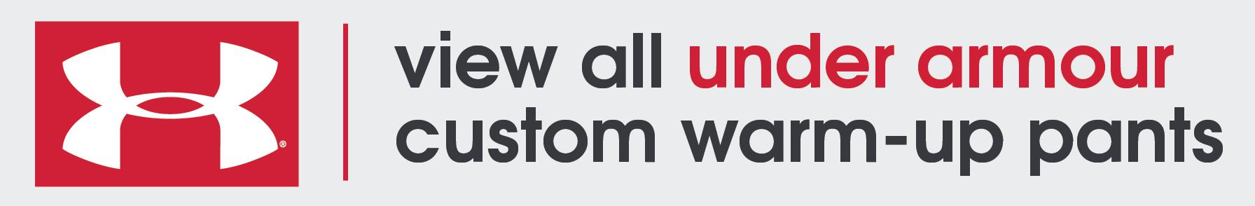 Custom Under Armour Warm-Up Pants