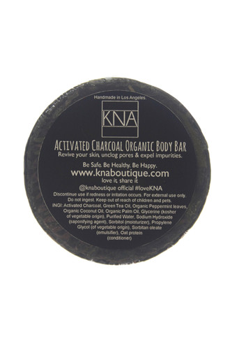 Activated Charcoal Face & Body Bar