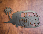 Volkswagen Bus Metal Wall Hanging