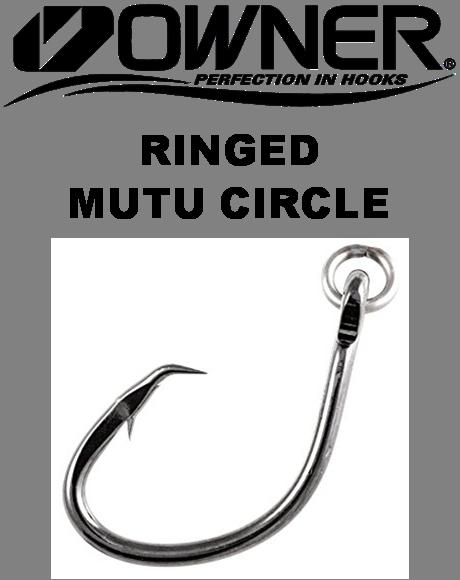 Owner Hooks - Ringed Mutu Circle