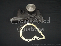 Land Rover Series II/IIA/III 2.25 Petrol & Diesel STC3758 Water Pump - (9 Bolt-Hole/Civilian Version)