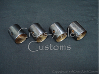 Land Rover Series II/IIA/III 2.25 & Defender 2.5 528004 Gudgeon Pin Bushing SET (Petrol)