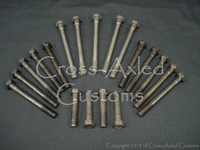Land Rover Series II/IIA/III 2.25 & Defender 2.5 NA Cylinder Head Bolt Set - Diesel